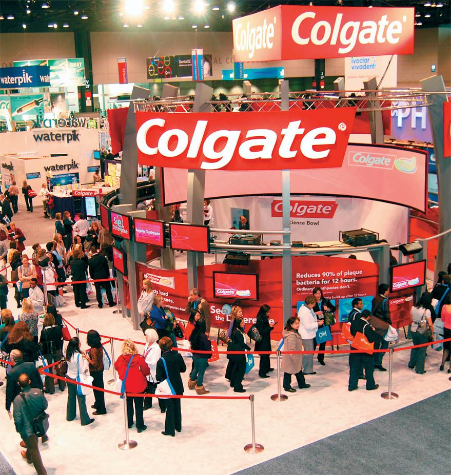 Expo Exhibition Stands Tall : Dental school exhibition booth and exhibit design