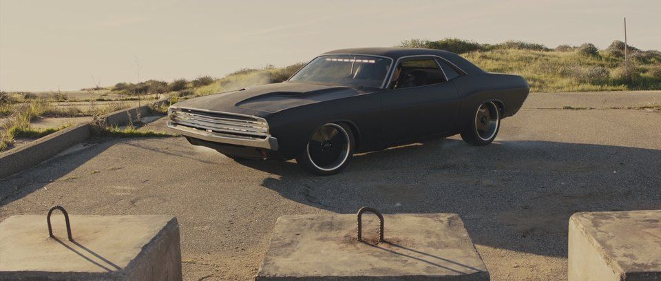1970 Dodge Challenger in In Time, Movie, 2011