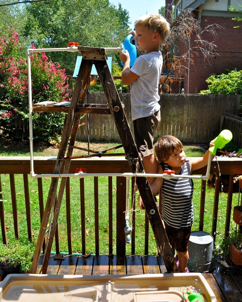 diy fun outdoor plumbing experiment little man stuff