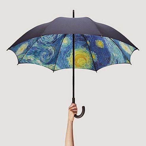 Sadesign - Articoli Promozionali Creativi - #vangogh #umbrella