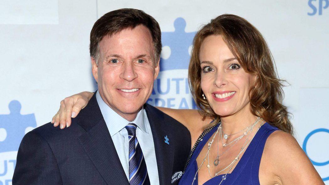 Bob Costas with beautiful, Wife Jill Sutton