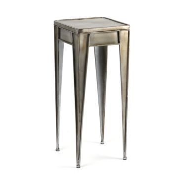 Pewter Side Table