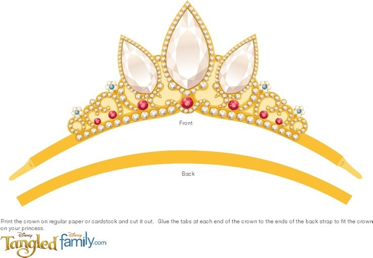 photo regarding Printable Tiara called Tangled Rapunzel Crown Printable Printable Labels