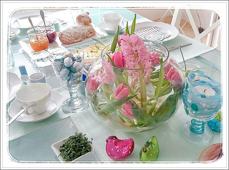 Wir begrüßen den Frühling...zum Frühstück :-)