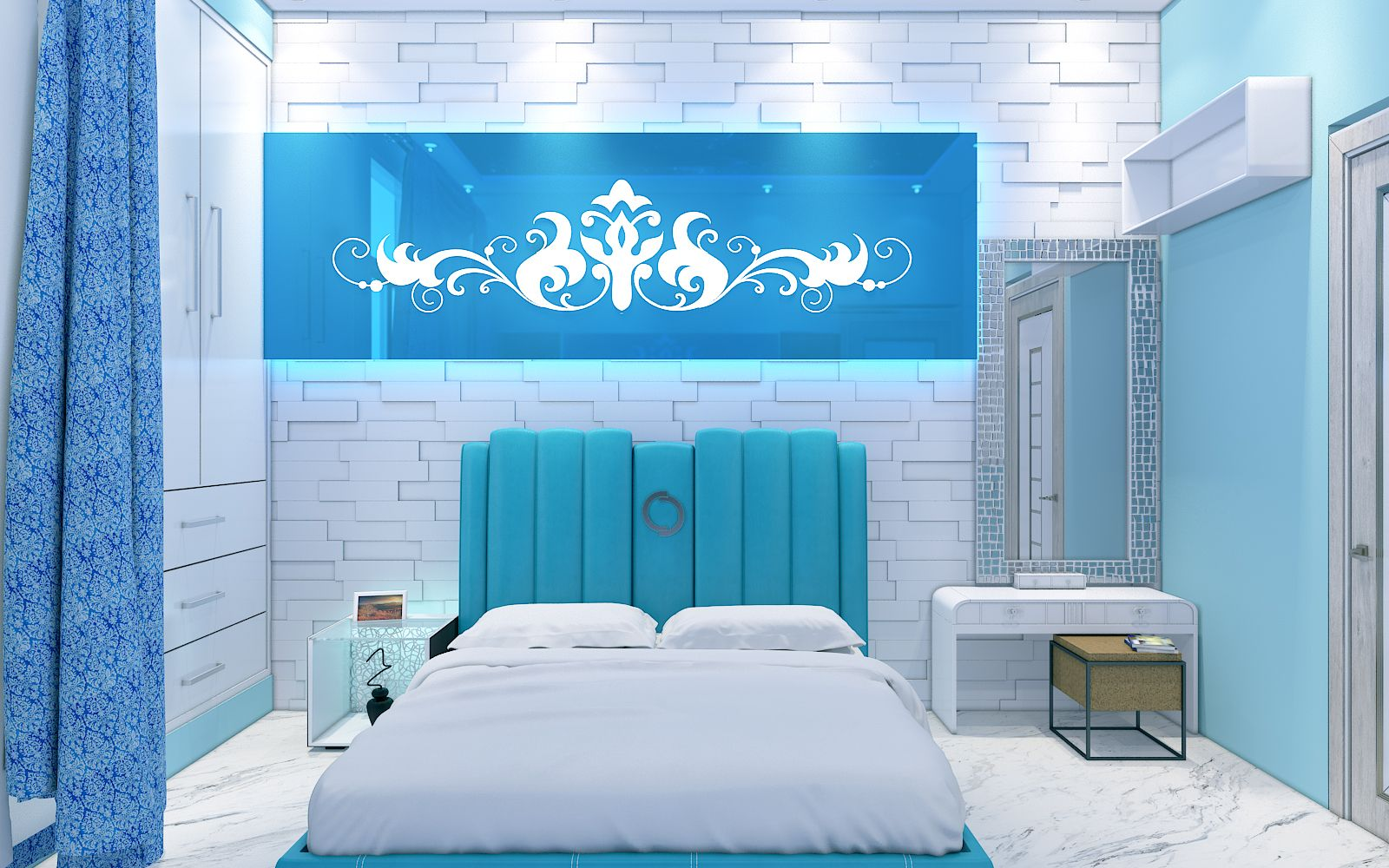 Bring Yagotimber S Aqua Bedroom And Make Your Interior Looks Exquisite Book Free Design Consultation Give Us Aqua Bedrooms Space Interiors Interior Design