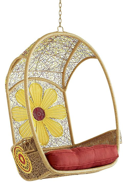 Cute And Colorful Garden Furniture By Pier 1 Swingasan Chair