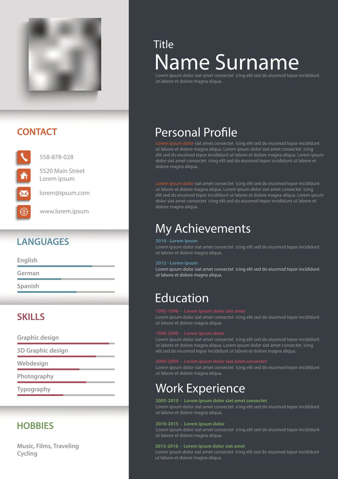 Blank Resume Forms Free Printable Resume Templates Free