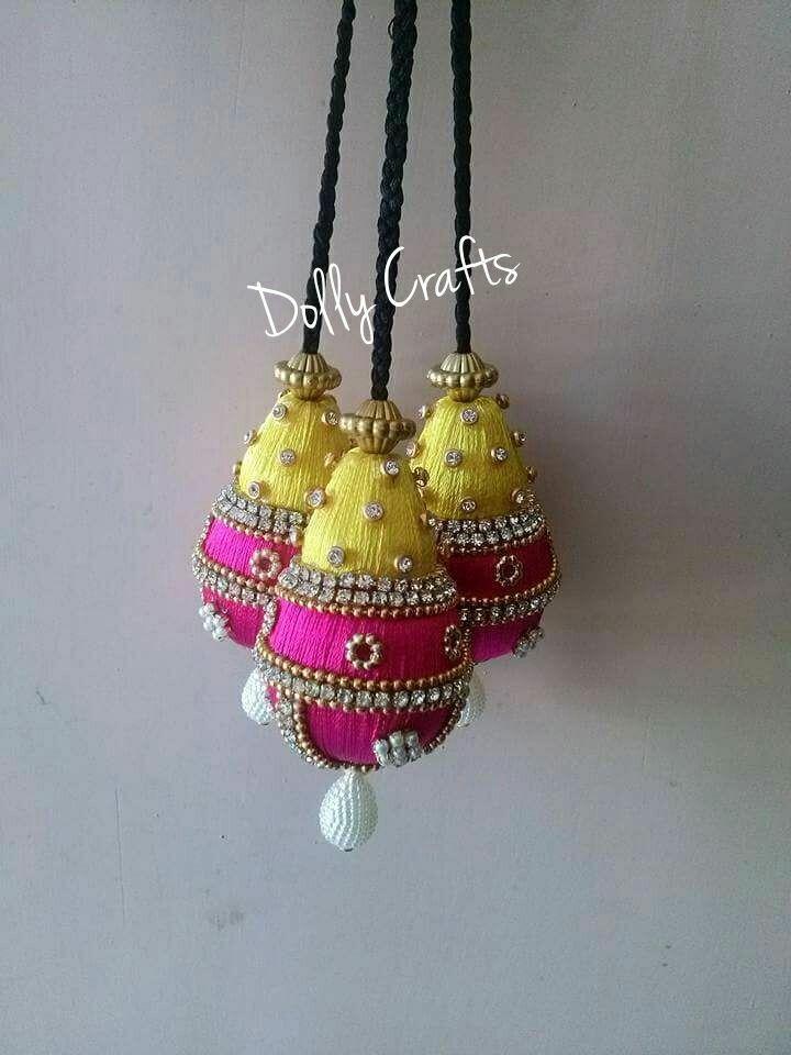 1 Pair latest Indian Multicolour Banjara Tassels sari latkan Blouse Duppata Suit