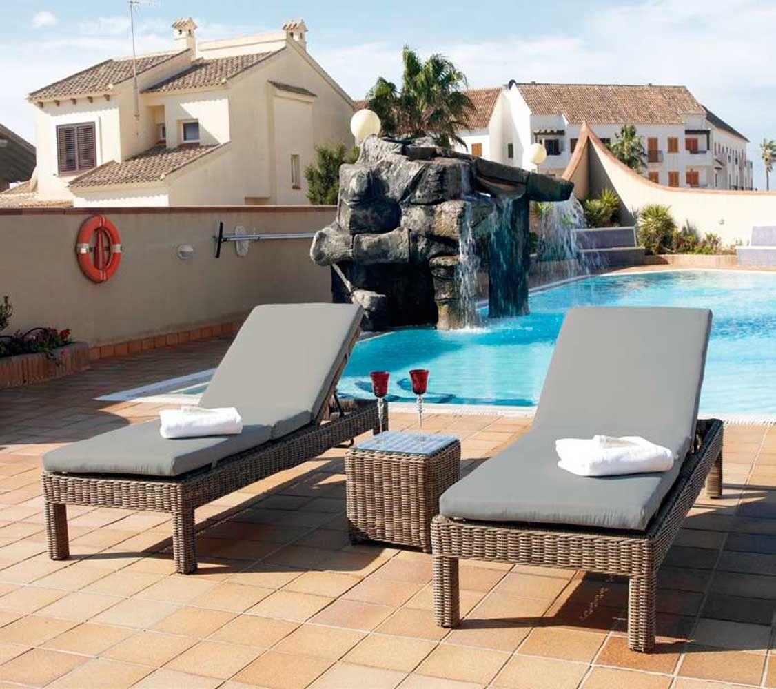 Tumbona Piscina Riviera En Mbar Muebles Com Crea Tu Rinc N  # Muebles Riviera