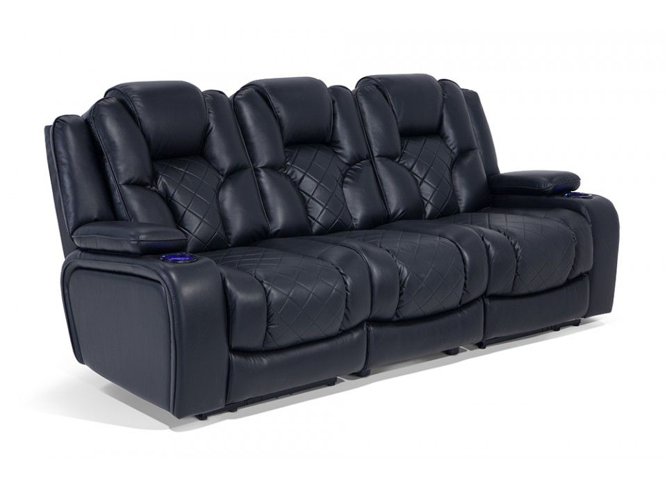 Reclining Sofa With Tray Table Evans Double Reclining Sofa