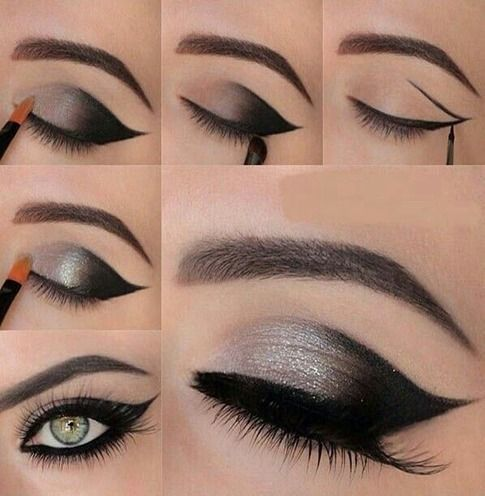 Best eye shadow for gray eyes, brown and black! Protect your lids - fashion, jewelry, makeup, shoes