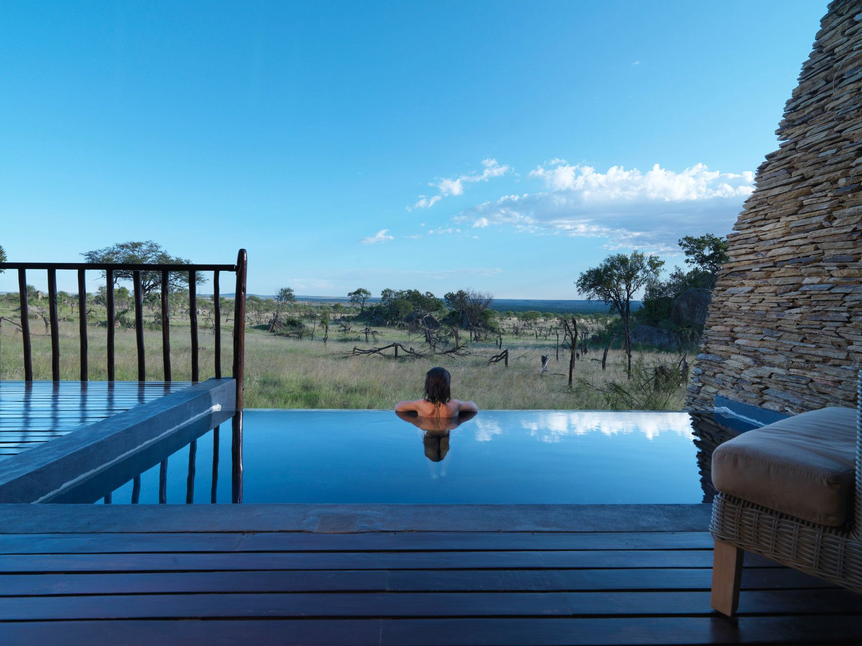 This Infinity Pool At Four Seasons Lodge Serengeti Is