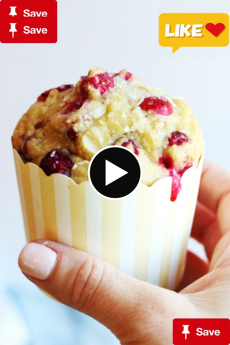 Cranberry Orange OatCranberry Orange Oat Muffins | gardeninthekitche...  and this is picked for your for father's day .
