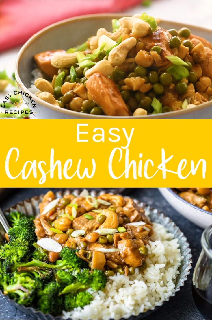 Homemade Cashew Chicken Recipe - Easy Chicken Reci