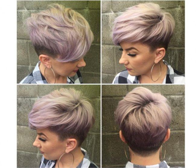 Pixie + undercut \u003d coiffure magnifique ! 20 photos qui le prouvent , Coupe  de cheveux