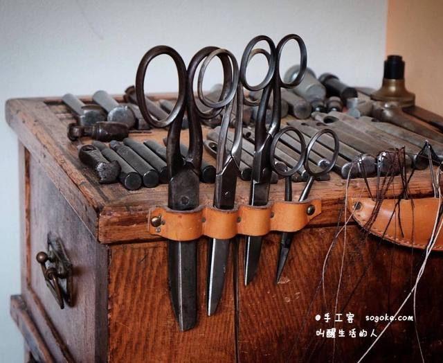 原创博文(多图):皮具制作