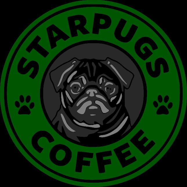 SVGS for Geeks! Pugs, Pug wallpaper, Starbucks wallpaper