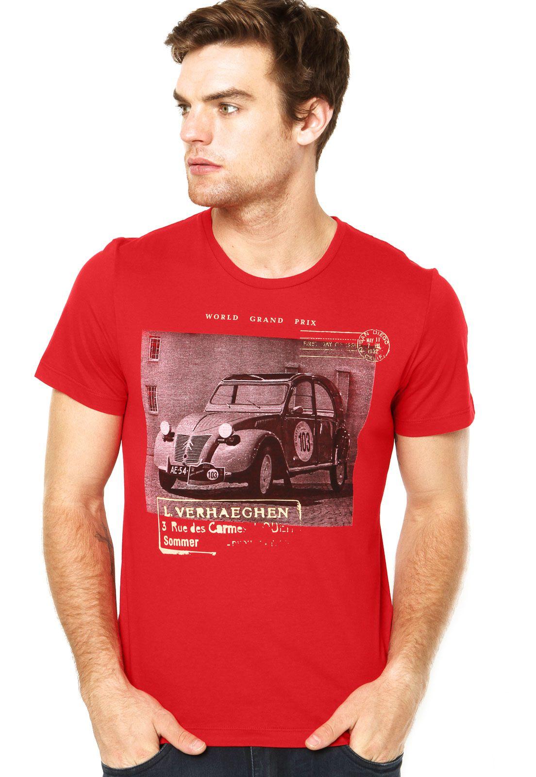 Camiseta Sommer Vermelha - Compre Agora | Sommer Brasil
