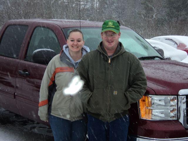 Jessica Weir And Jeffery Rodgers Girard Pa 2008 Gmc Sierra Newest Family Members Chevrolet