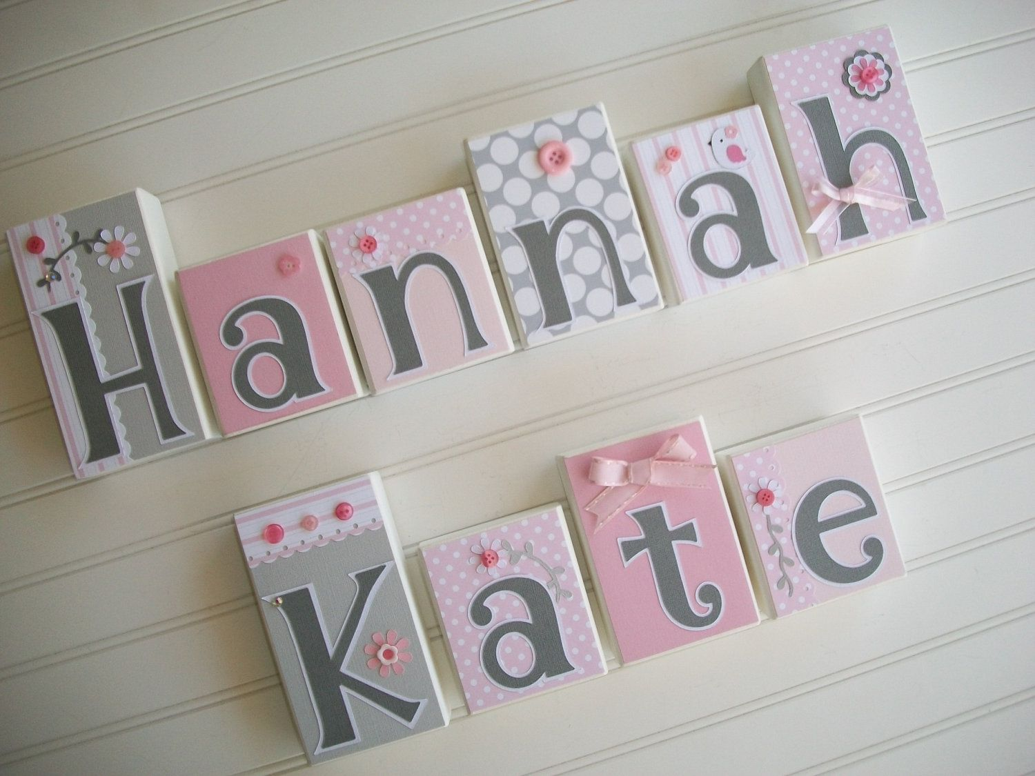 Baby Name Blocks . Nursery Name Blocks . Nursery Decor . Baby Letter Blocks  . Wood
