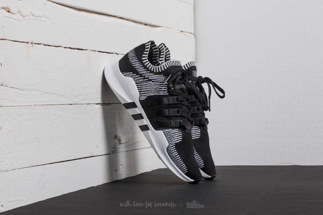Adidas Eqt Appoggio Avanzata Primeknit Nucleo Nero / Wite Nucleo Nero / Ftw Wite / A 75d397
