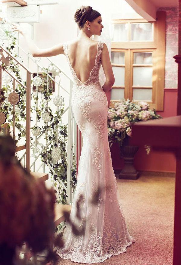60 perfect low back wedding dresses beautiful wedding