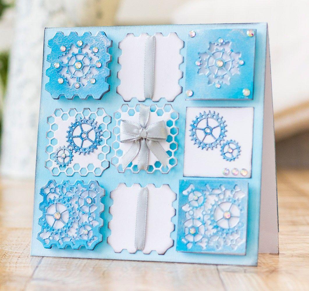 Decorative Motifs Gemini Create a Card Paper Craft Metal Cutting Die