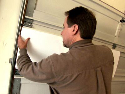 Diy How To Insulate A Garage Door Tutorial Includes A Video On How To Install The Insulation Choose The Type Of Insulation Yo Garage Doors Diy Garage Door