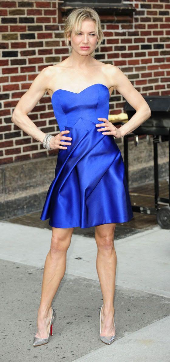 Renee Zellweger Sexy Hot Or Not Muscular Renee Zellweger Did David Letterman Last Week