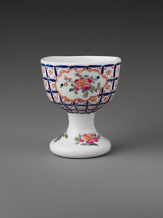 Egg Cup ca. 1760 Bristol, England