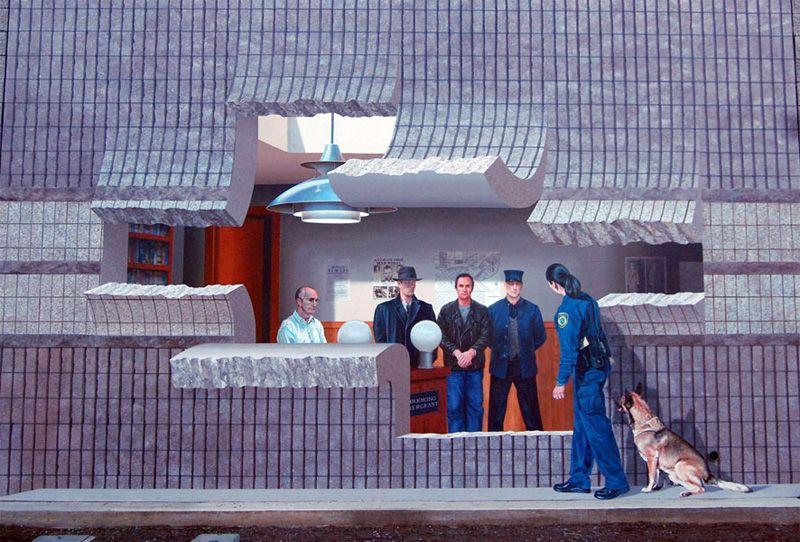 John pugh mural