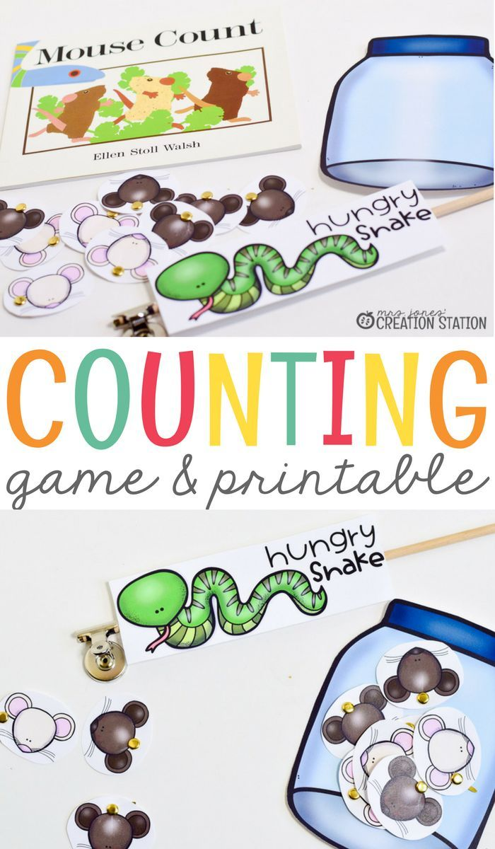Mouse counting math activity interactive activities activities