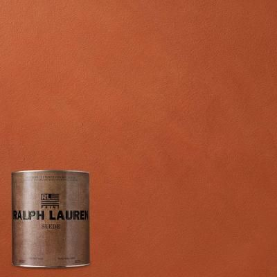Ranchitos Red Suede Specialty Finish Interior Paint Su111 04 At The Home Depot
