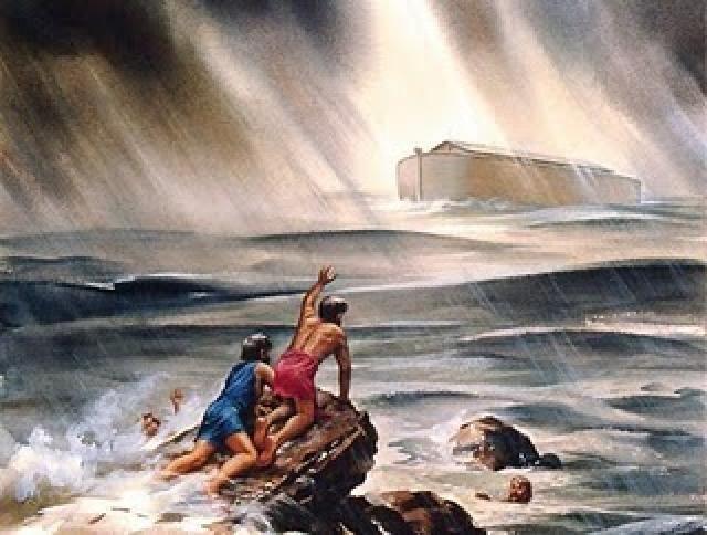 Image result for ark flood noah