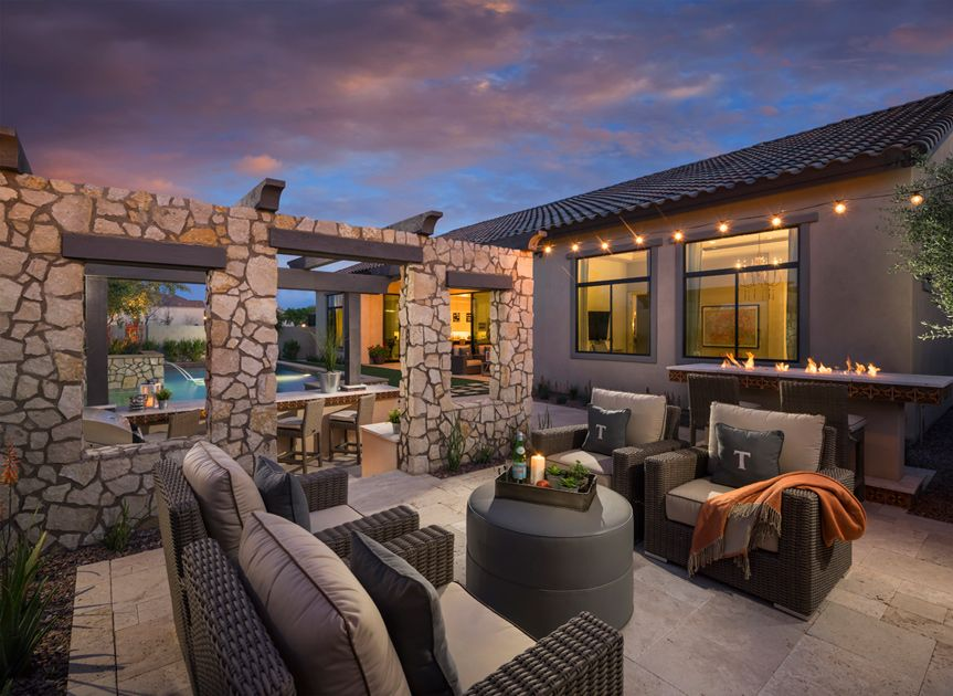 House · The Aracena Is A Luxurious Toll Brothers Home Design ...