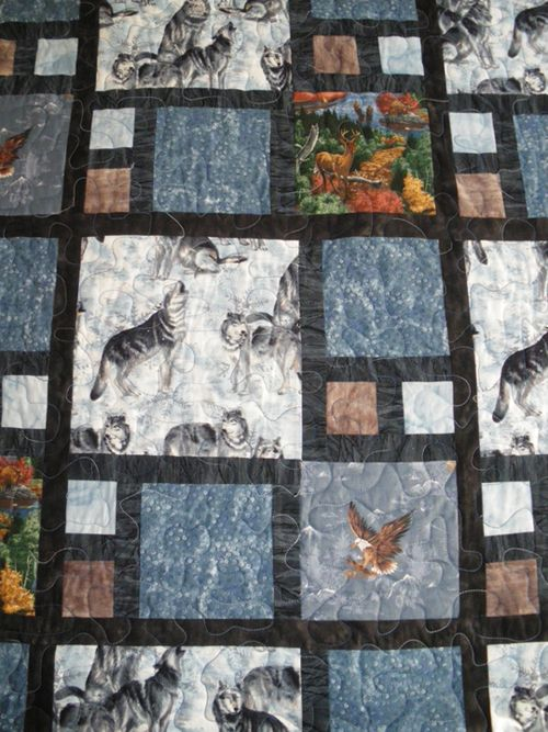Quilt Patterns For Large Print Fabrics : quilt, patterns, large, print, fabrics, Great, Quilt, Pattern, Large, Print, Fabrics, Community, Quilters, America, Wildlife, Quilts,, Panel, Patterns,, Quilts