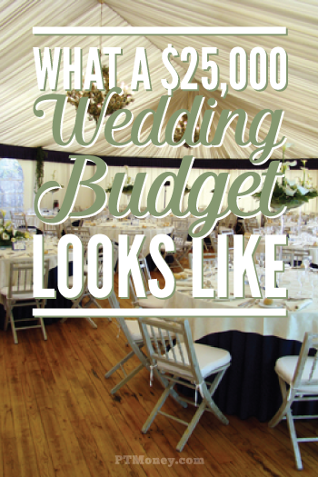 What a $25,000 Wedding Budget Looks Like   PT Money