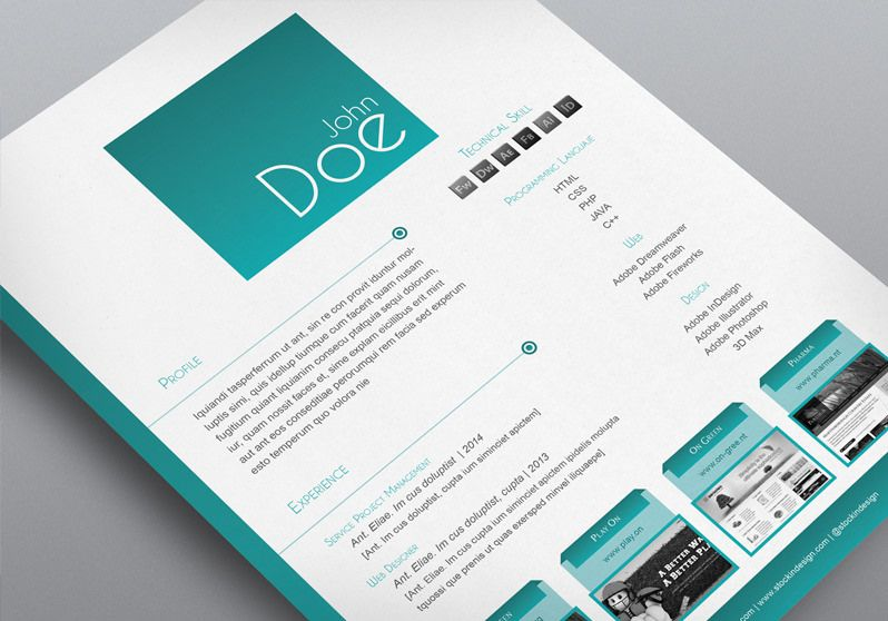 3 CV\/Resume InDesign Templates Clean \ Elegant Curricular vitae - adobe indesign resume template