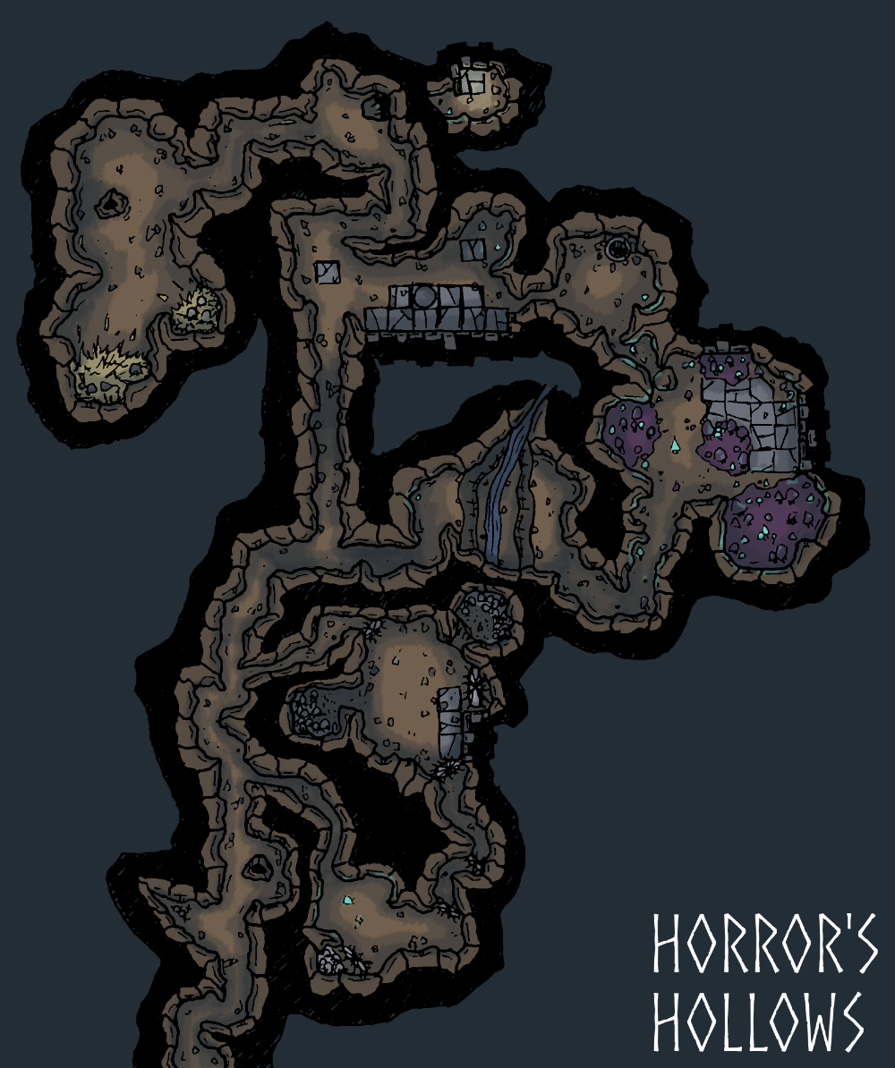 5e Map Of Cave - Google Search In 2019