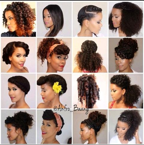 coiffure protectrice cheveux crépus - Recherche Google | Nappy ...