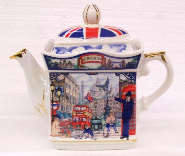 Sadler Piccadilly Design China Teapot 2 Cup