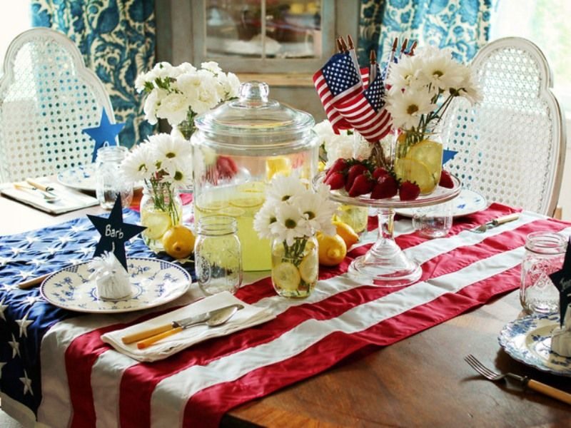 Fourth Of July Kitchen Table Decor 13 Cool Ideas 4th Decorations Digsdigs