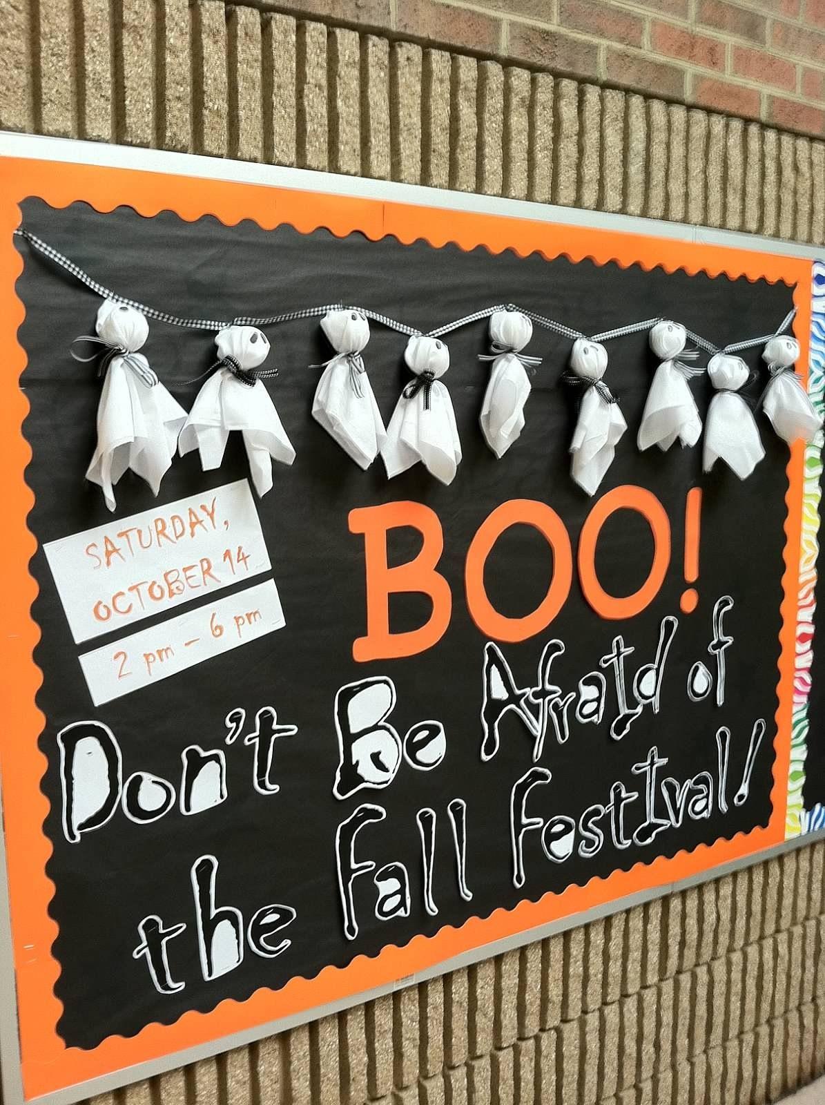 October Bulletin Board Bulletin Boards Pinterest