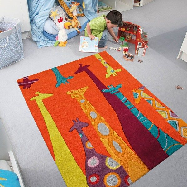 Giraffe Rugs For Kids 3078 40