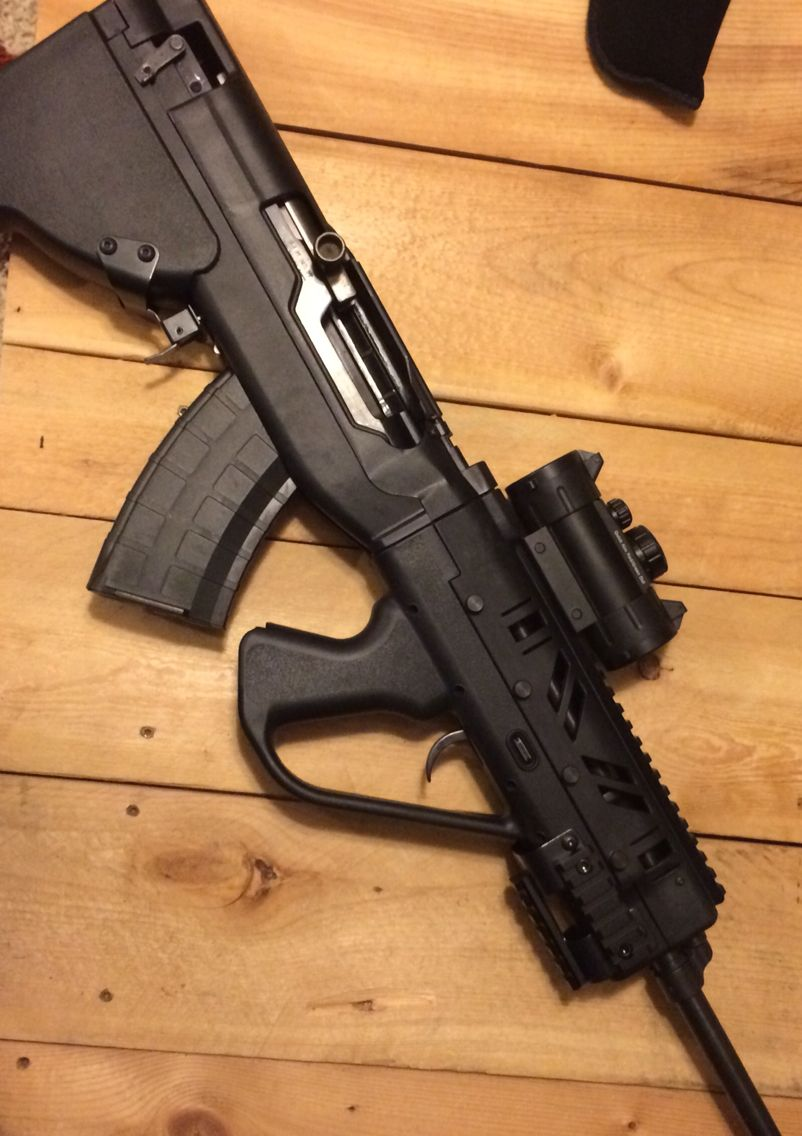Sgworks bullpup kit on Chinese Sks | Hobbies | Weapons guns