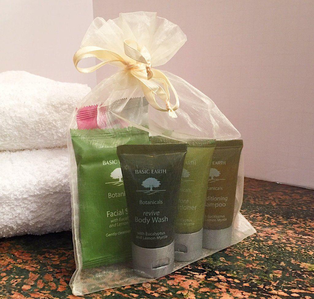 Basic Earth Botanicals Essential Bath Amenity Kits #airbnb