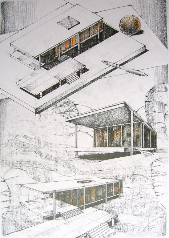 The Architectural Review S Folio Architectural Sketch