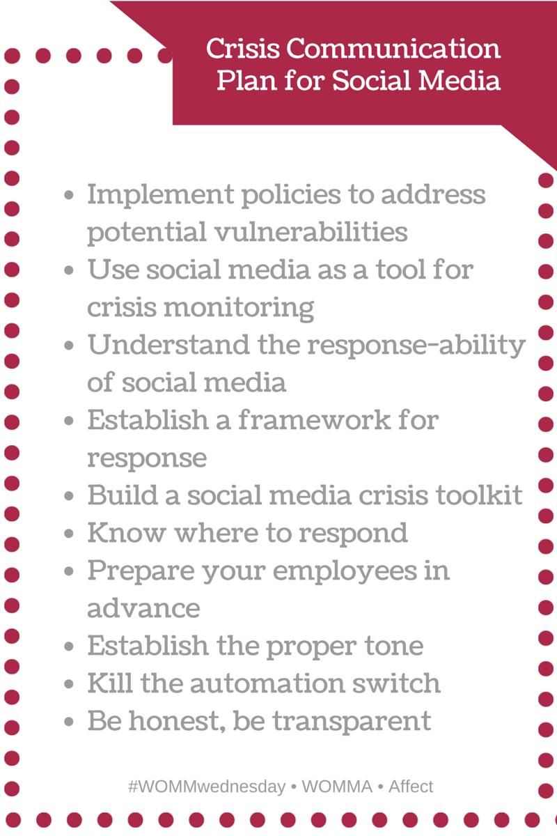 Creating An Effective Social Media Crisis Communications Plan Communications Plan Social Media How To Plan