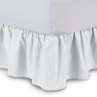 Harmony Lane Tailored Bed Skirt with Split Corners 16 Colors 200 Thread Count