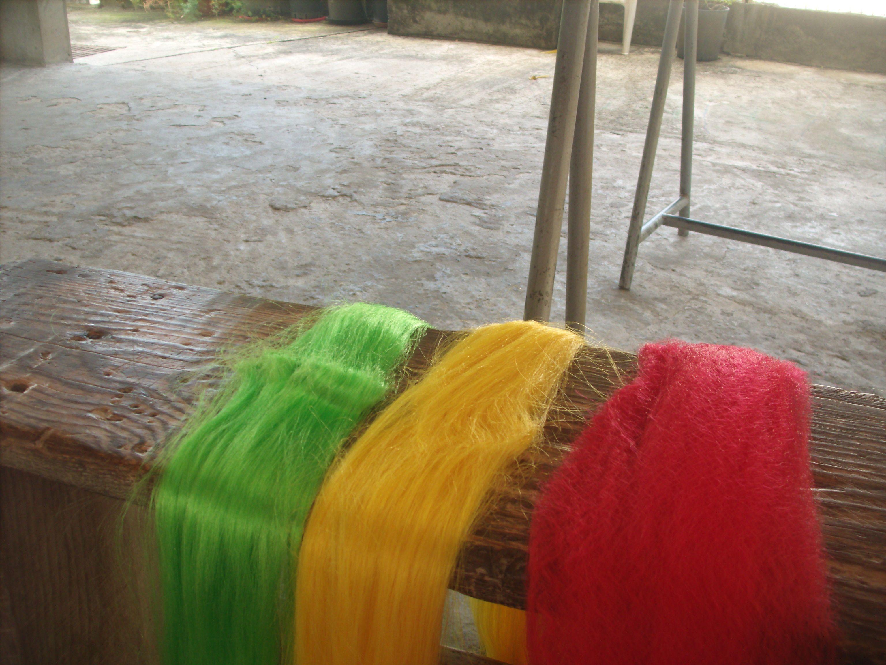 Mèches pour tressage: les bonnes couleurs! °_*